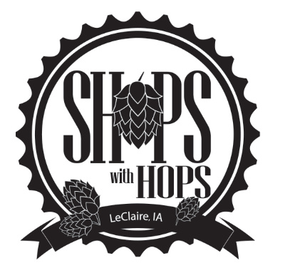 Shops with hops - Held in Le Claire, Iowa, this annual event combines two of our favorite things: beer and shopping. Craft breweries from all over the region set up their sample stations in the shops in downtown Le Claire. After picking up your signature tasting glass, you sip and shop your way down to the after-party at Green Tree Brewery, where prizes and raffles await!