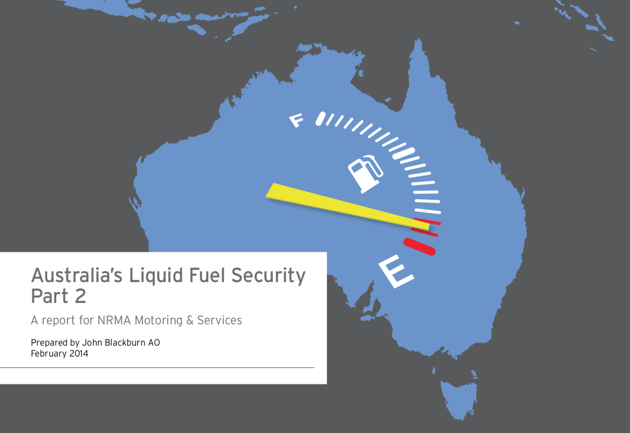 Australia's Liquid Fuel Security Part 2 - This second report in the Liquid fuel security series addresses four key questions:1. How much more serious could the problem get?2. Why has no action been taken to date?3. What can we do about it?4. How can we initiate action on a fuel security plan?Download the Report