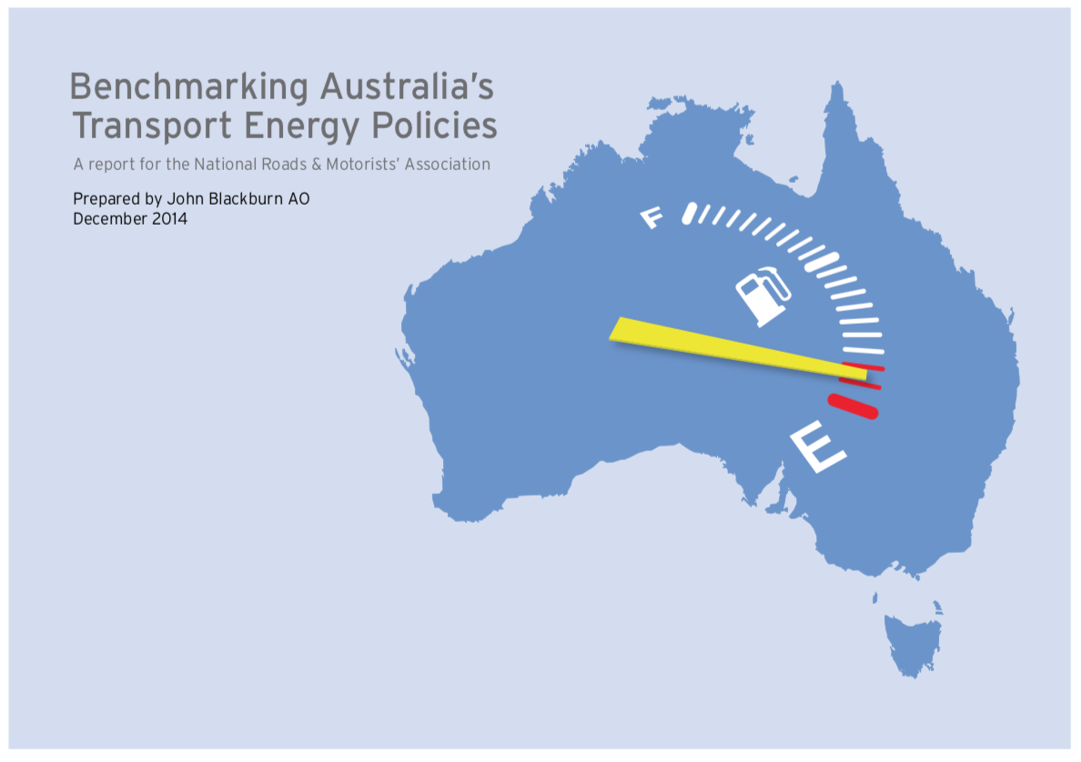 Benchmarking Australia's Transport Energy Policies - This third report in the Liquid fuel security series benchmarks Australia's energy security policies against those of other nations and finds Australia out of step with virtually every other comparable country in the world.Australia is the only oil/fuel importing country in the developed world that has none of the following: public owned oil/fuel stocks and/or mandated commercial stock holdings and/or government control or participation in the country's oil/fuel markets.We alone, amongst all developed oil importing countries, rely completely on commercial market forces for our transport energy security. This is no less perilous than contracting out our Defence Forces or out-sourcing our food supply.Download the Report