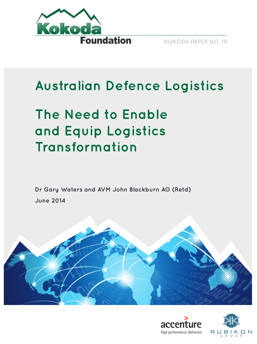 Australian Defence Logistics - This report aims to highlight to the wider Defence community the challenges faced by Defence Logisticians and the lack of priority that Defence leaders have placed on Logistics systems in the past. Its fundamental contention is that Defence will need to place greater emphasis on the Defence Logistics function if it is to meet the challenges of a more complex and challenging operating environment in the future.Given the complexity of the Logistics challenge, the report provides a high-level overview of Defence Logistics.Download the Report