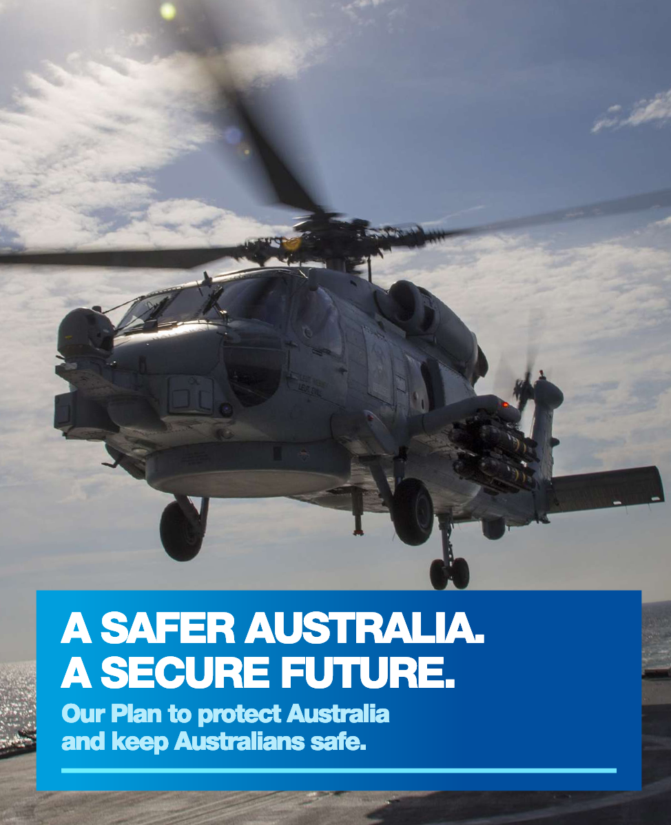 """""""Our Plan for Keeping Australians Safe and Secure"""" - Liberal Party Feb19 Announcement - Is this the Government's National Security Plan ? It mentions National Security, but falls far short of a real Strategy and Plan.Two ANU students, Samuel Bashfield a postgraduate student and James Mortensen a doctoral candidate, have produced an excellent analysis in their article in the Diplomat: """"Australia's Liberal Party Releases National Security Plan Ahead of May Elections … The plan broadens the church of national security but it doesn't provide much clarity."""" They conclude that while the plan … is noteworthy in its distinct broadening of the church of national security … without a clear notion of how these issues fit within the wider frame of national security – or without even a clear conception of what Australia's national security outcomes are – the plan poses more questions than it answers.Perhaps it is a political manifesto targetted at the next election and not a coherent National Security strategy and plan?"""