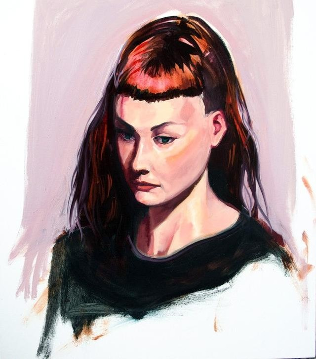Alice, oil on canvas - from the 2015 portrait residency project at RMIT first site⁣ ⁣ I really enjoyed this project and getting to chat with everyone. thanks for sitting for me Alice. by the way would anyone like this painting? I still have it :)⁣ ⁣ #oiloncanvas #melbourneartist #portraitpainting #oilpainting #paintingprocess #2or3hourpainting #speedpainting #firstsitegallery