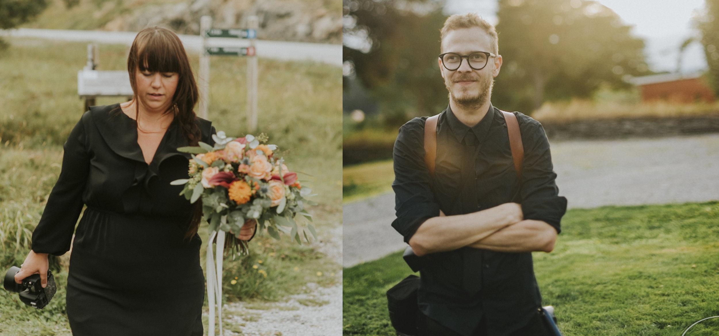Om oss - Vi er Joachim og Marita, Bestevenner, Kjærester, to fotografer og mamma og pappa til fine Teo og Saga.