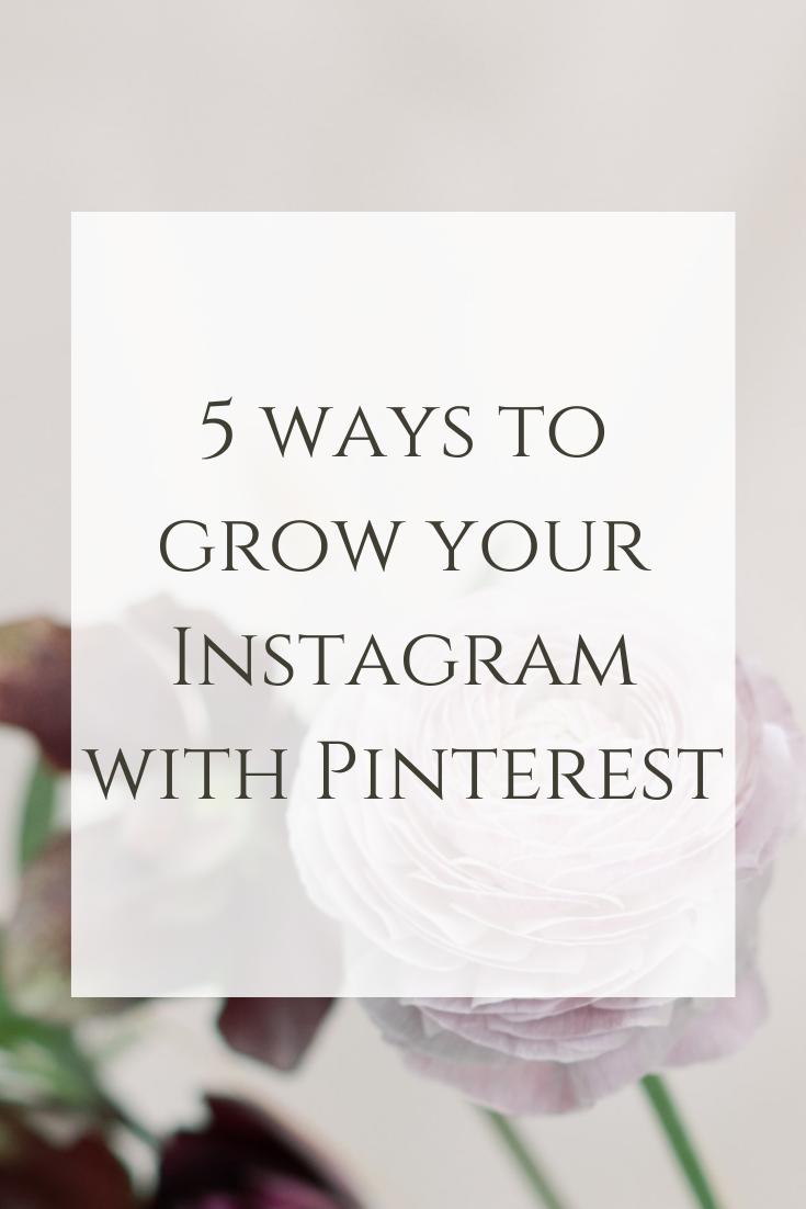 20 ways to grow your Instagram with Pinterest — daniella van den ...