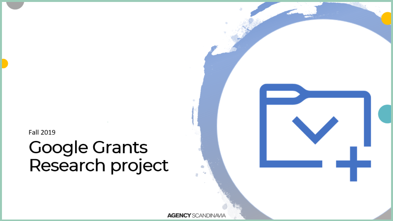 Google Grants Research Project