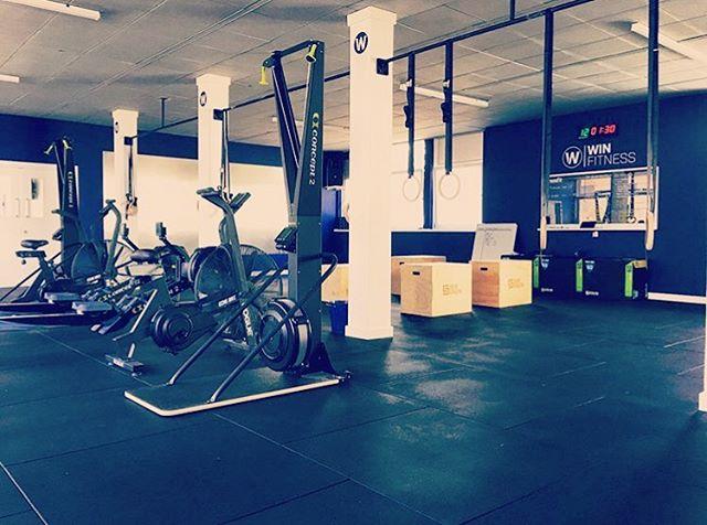 Solid setup at @winfitnesshamilton, Scotland's newest CrossFit affiliate