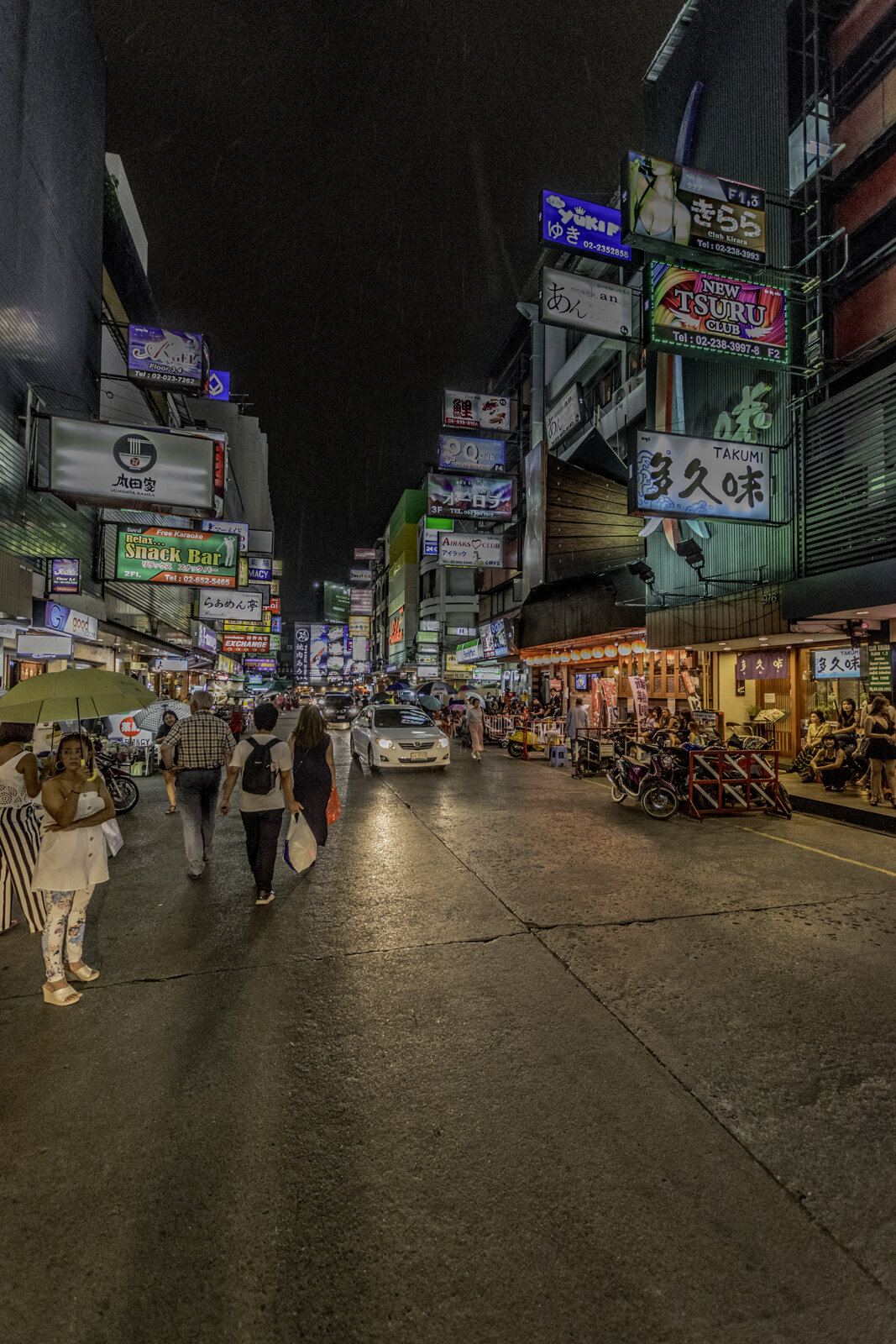 Night life in Bangkok