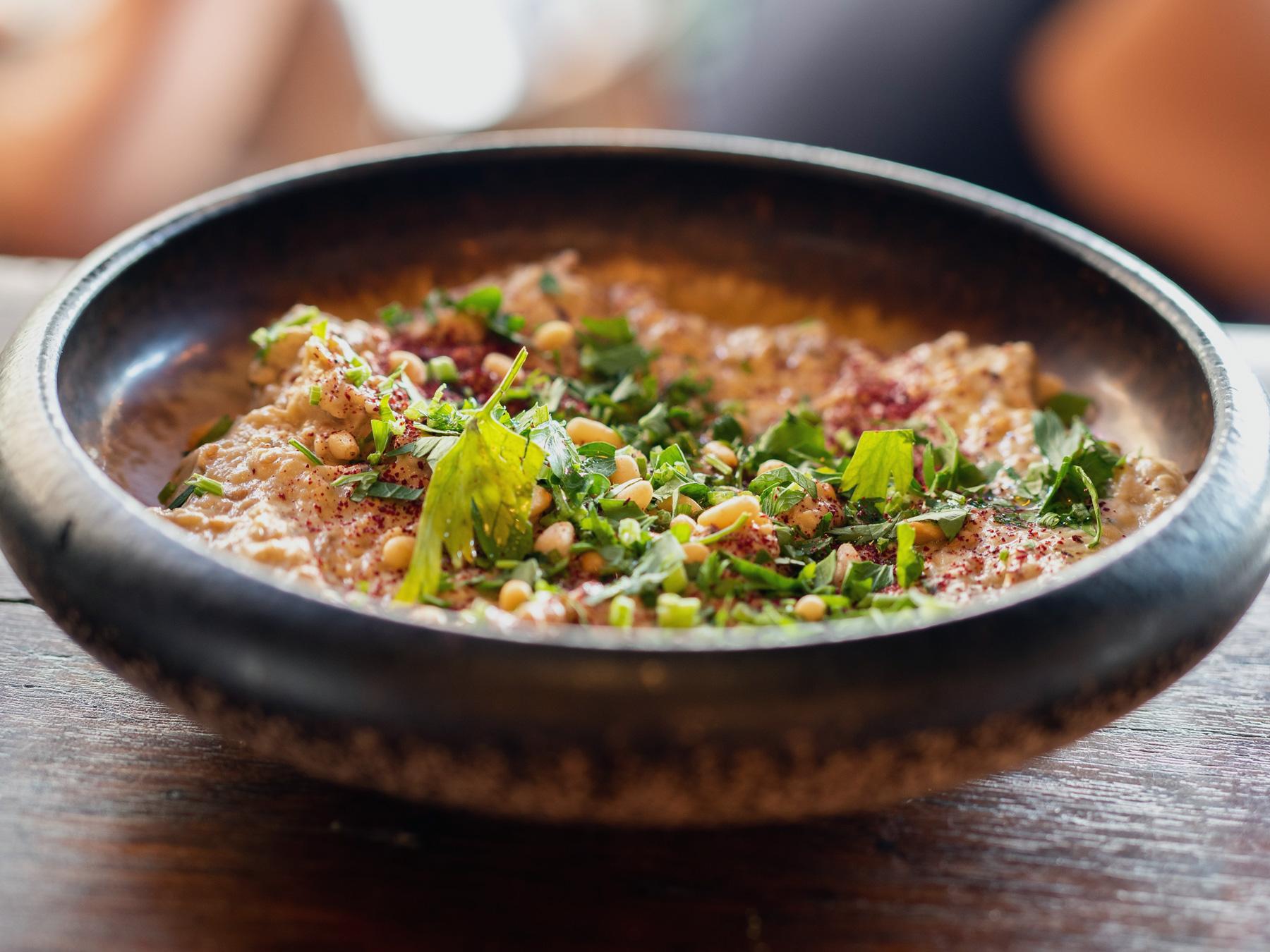 Bhutan cuisine on yoga retreat