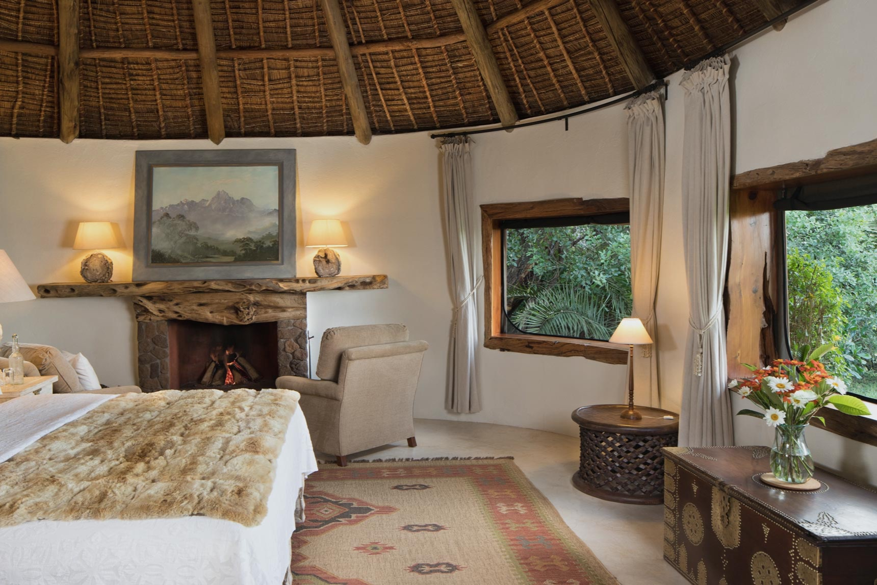 Luxury yoga safari Kenya