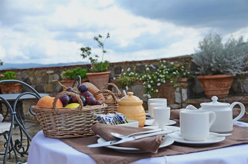 Italian breakfast luxury guesthouse