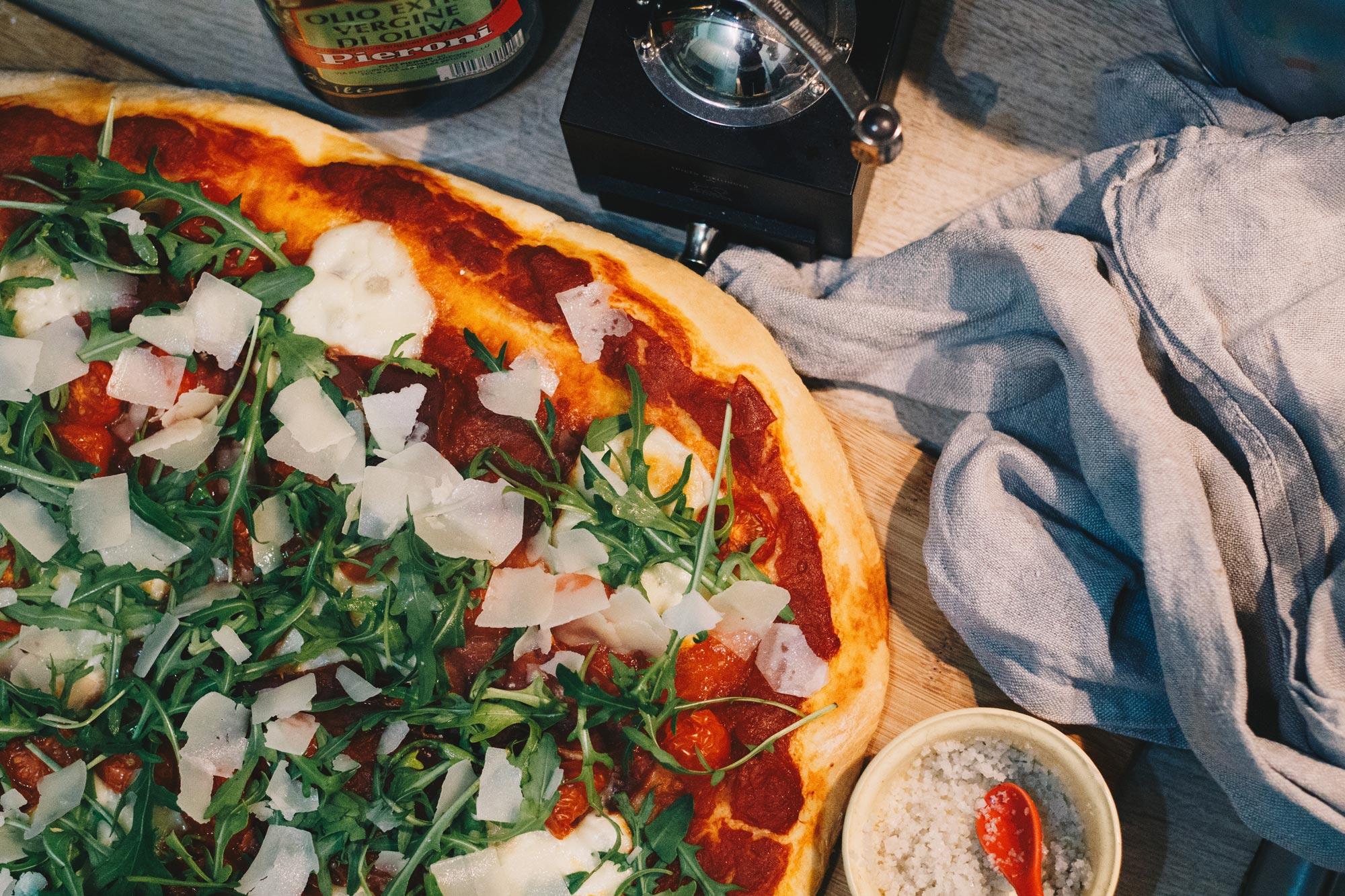 Italian food and wine on a Tuscany Yoga Retreat