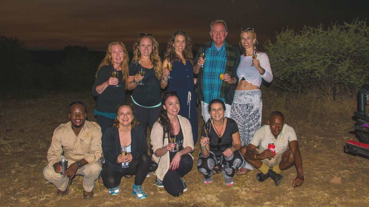 Exotic Yoga Retreats on safari in Africa!