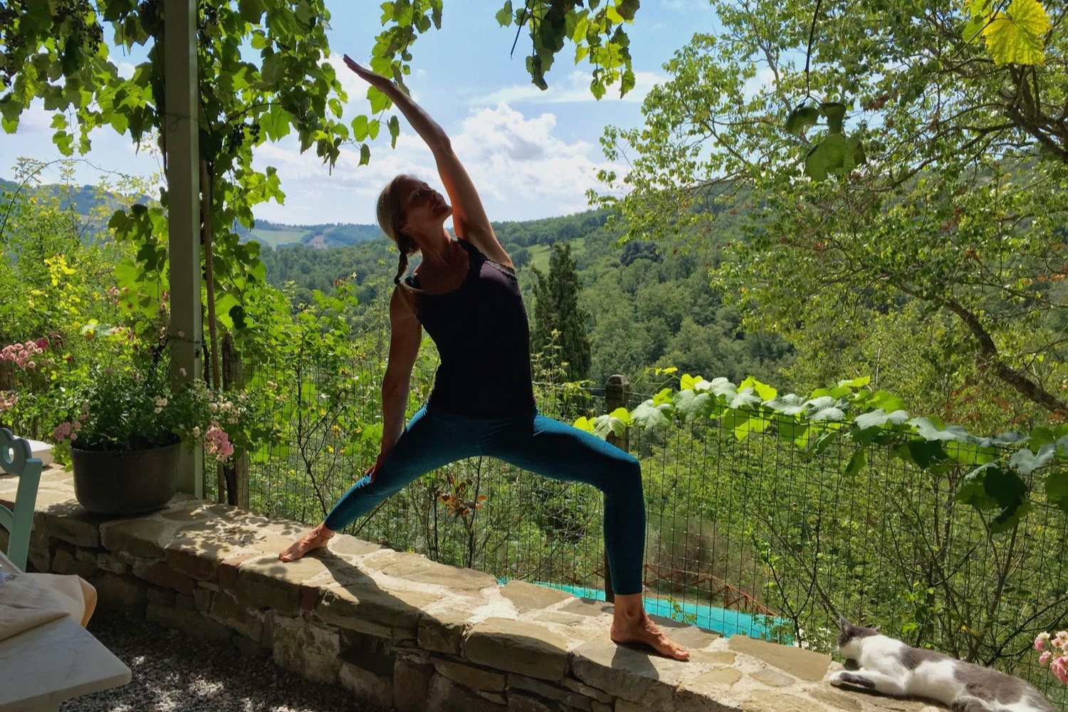 Umbria morning yoga classes