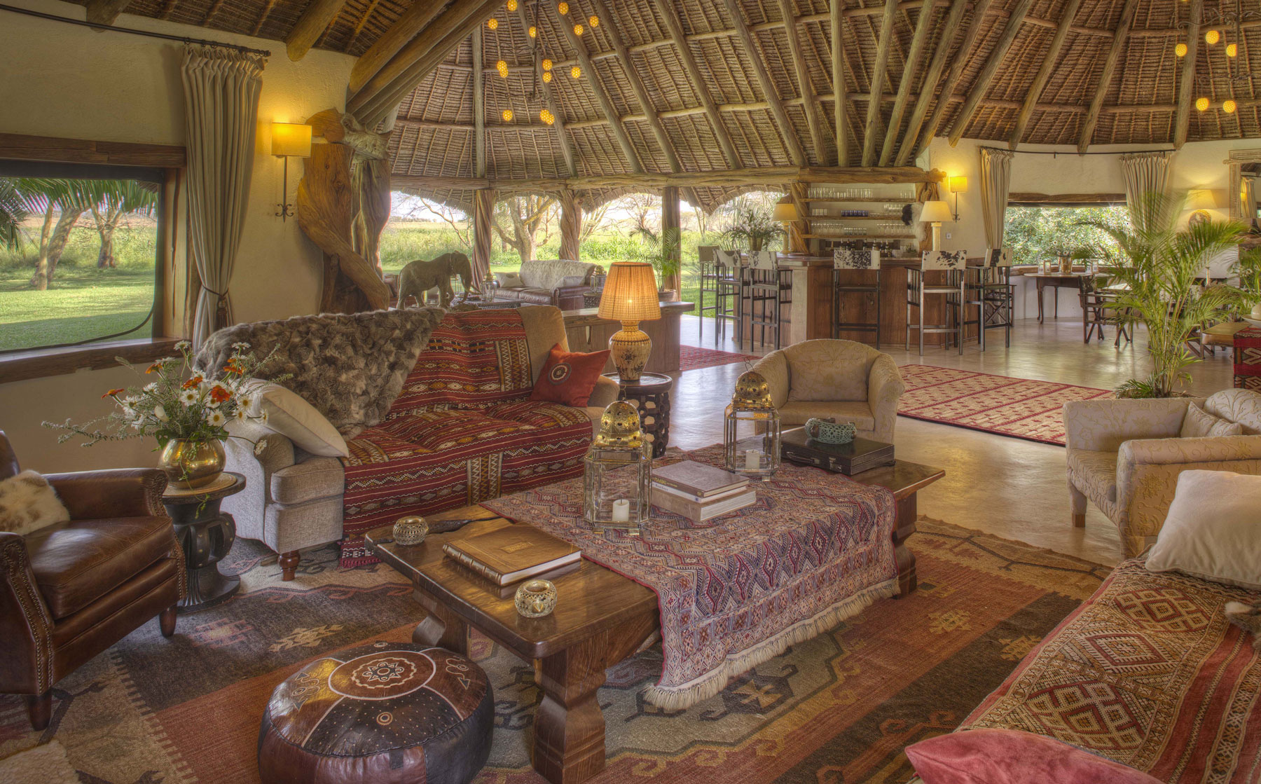 Sirikoi House living room