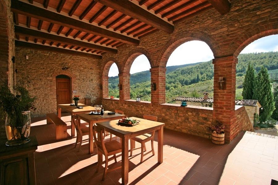 Tuscan villa summer holiday