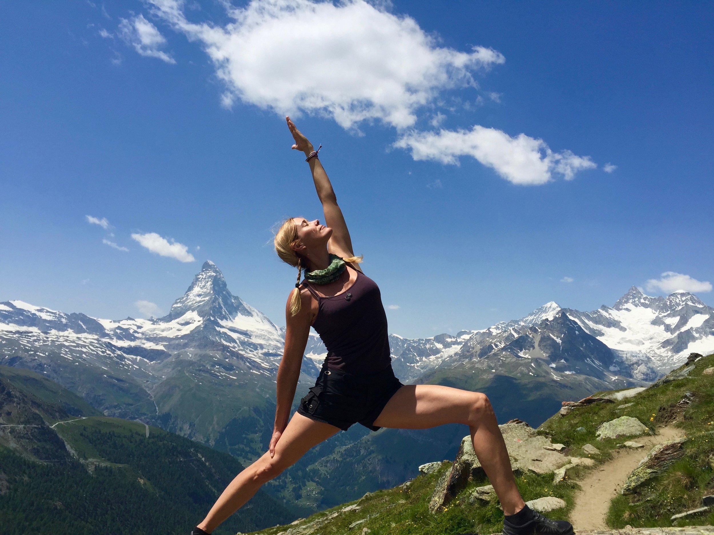 hike, spa and yoga retreat Switzerland