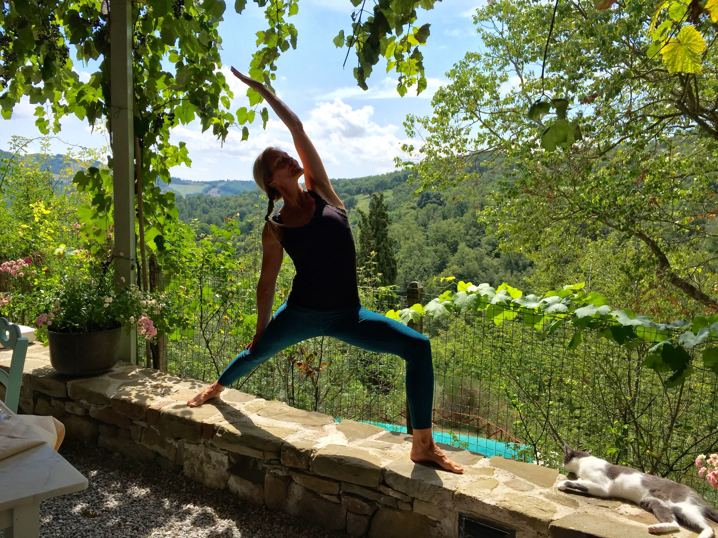Copy of Yoga retreat in Italian countryside with Gayle Olson
