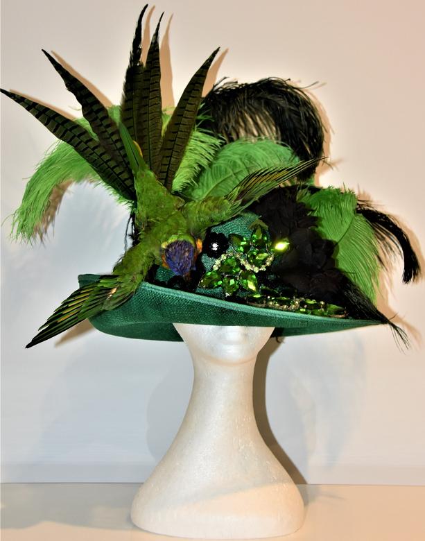 Skull Stylist piece created for Scarlet Adams' Miss Burlesque Western Australia (2019) Handover Act Photo courtesy of Skull Stylist