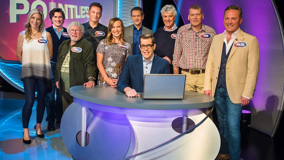 Pointless Celebrities BBC1