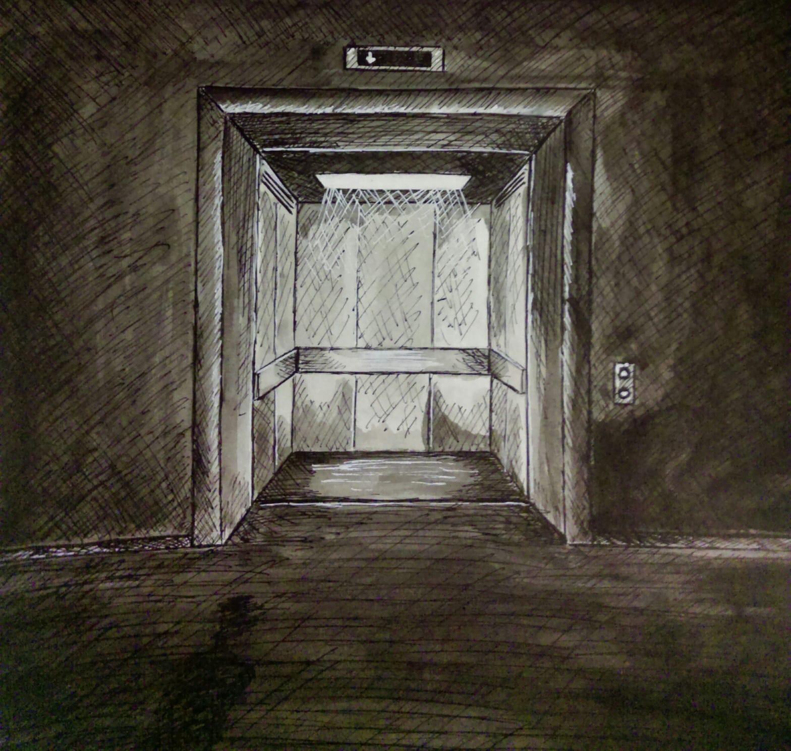 Elevator  by  Grace Duncan