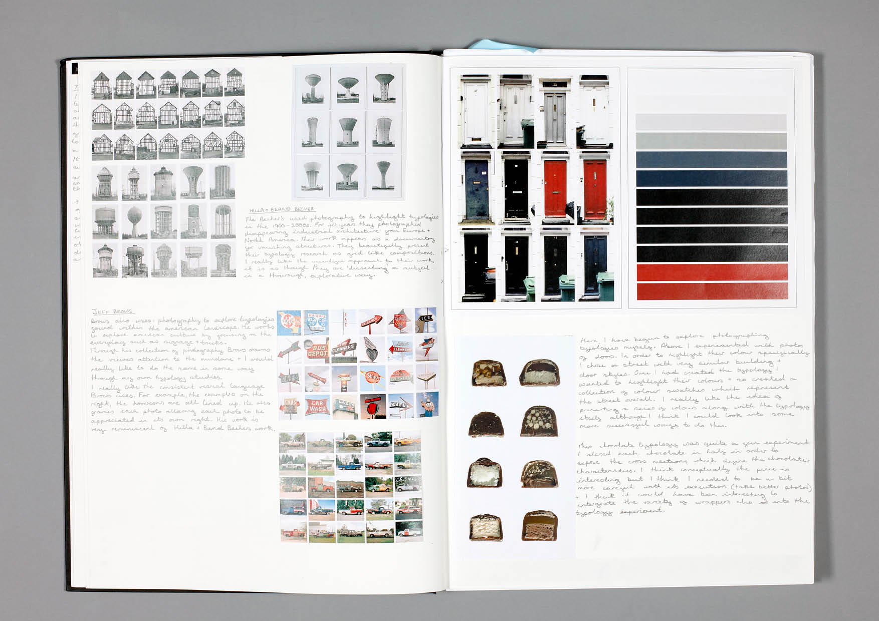 Design by Mils Typology Sketchbook Page