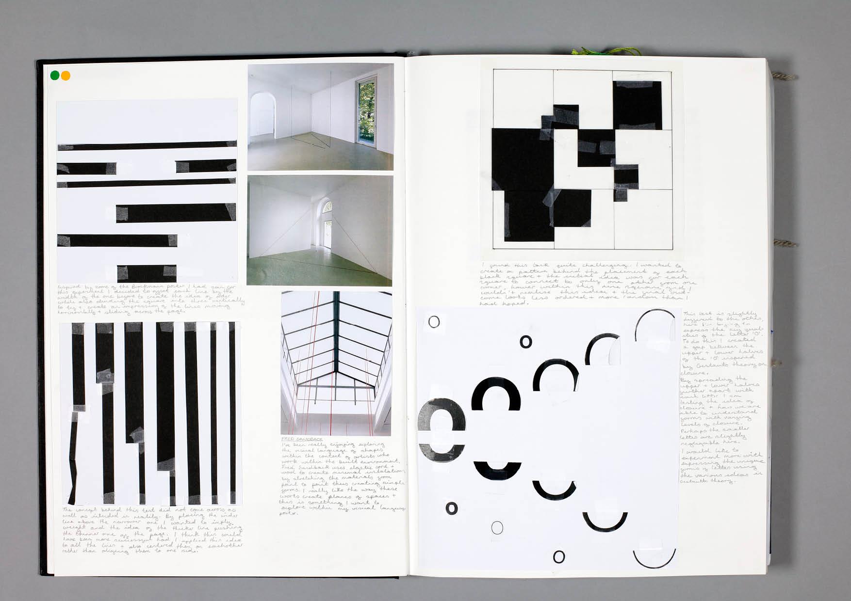 Design by Mils Visual Language Sketchbook Page