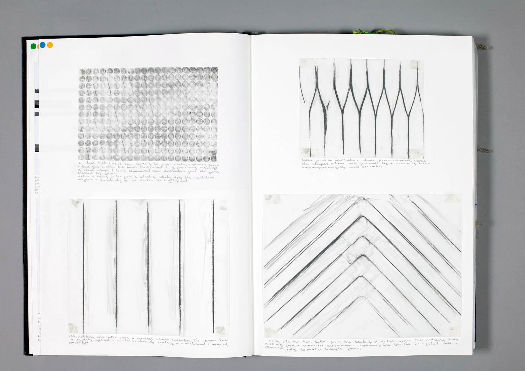 Design by Mils Textures Sketchbook Page