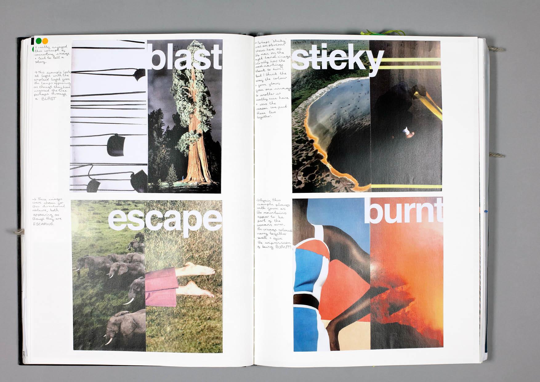 Design by Mils Juxtaposition Sketchbook Page