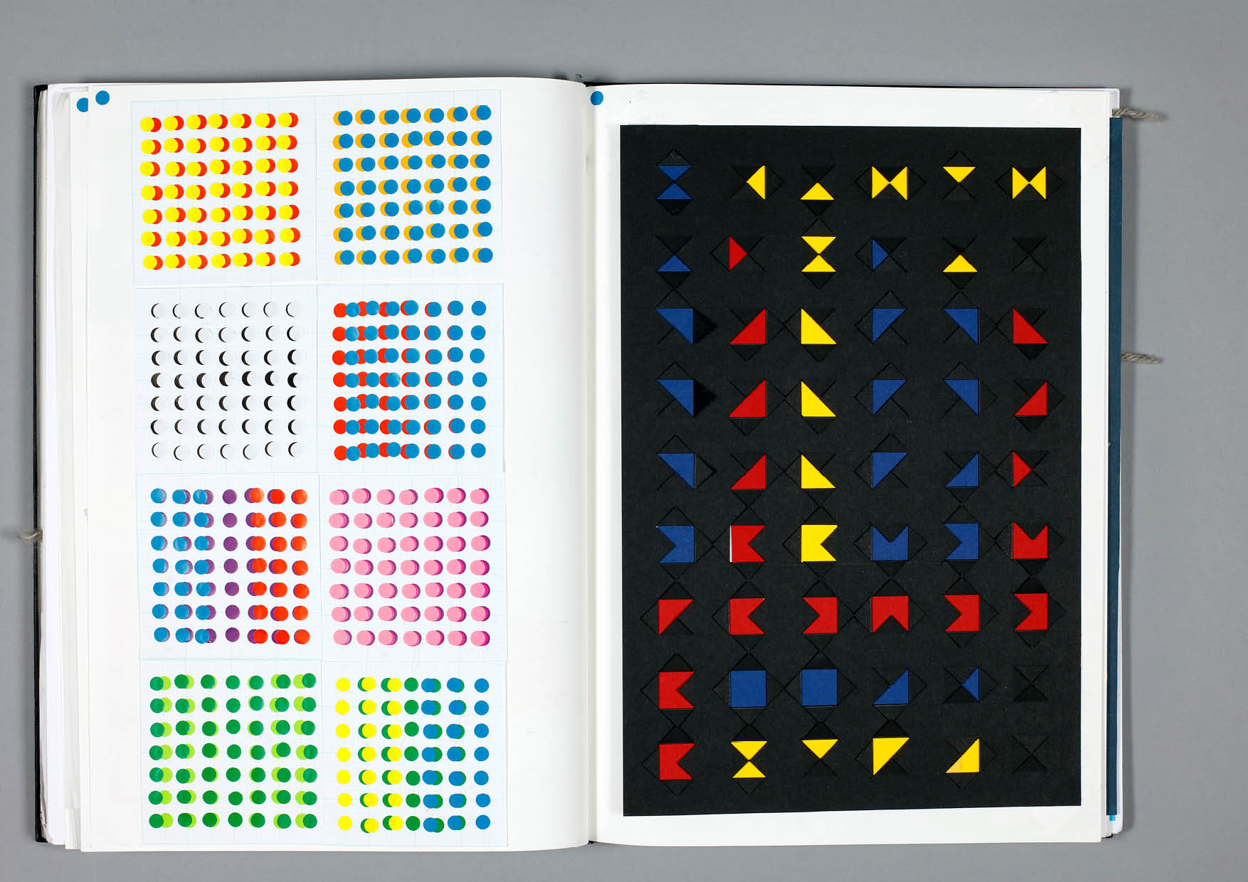 Design by Mils Colour Theory Sketchbook Page