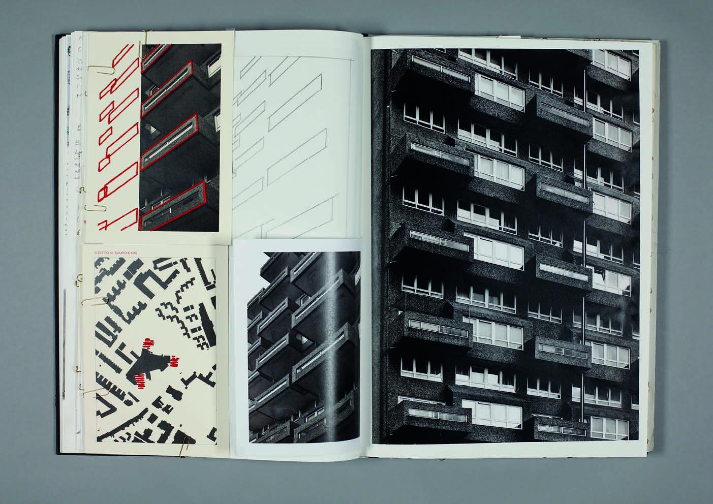Design by Mils Brutalist Sketchbook Page