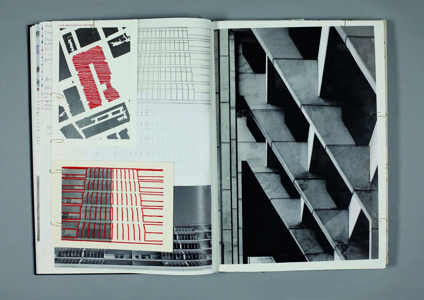 Design by Mils The Brunswick Centre Sketchbook Page