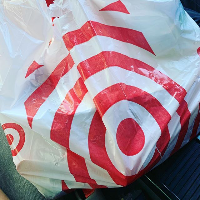Target. One bag, one million dollars. #shoppingishard #targetproblems #damnyoutarget #imjusthereforshampoo #everytime 😭😂