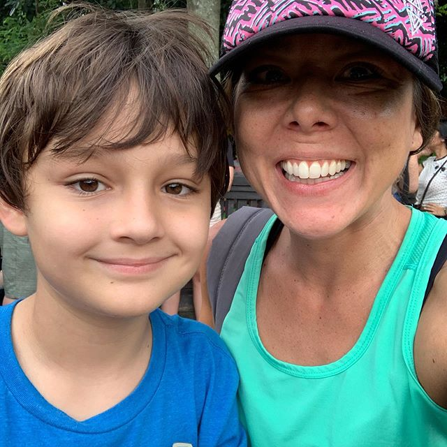 "My adorable nephew! Before I snapped this he said, ""Wait let me fix my hair."" 😆I love being an auntie! #nephews #family #summermemories #cutie #sweatyselfie"