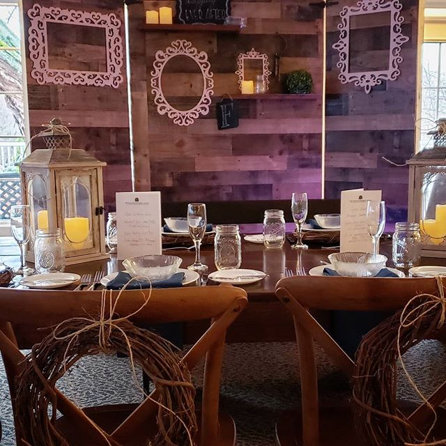 Create the perfect #rusticweddingdecor look for your big day without the #rusticwedding feel at the #PlantationPartyHouse with the gorgeous fruitwood farm table and #shiplap backdrop. #weddingdecor #weddingdecorations #weddingreception #weddingreceptiondecor #farmwedding #rusticbarnwedding #rusticdecor #barnwedding #rochesternewyork #rochesterny #585weddings #rochesterbride #rochesterbrides #rocbrides #shabbychic #rusticweddings