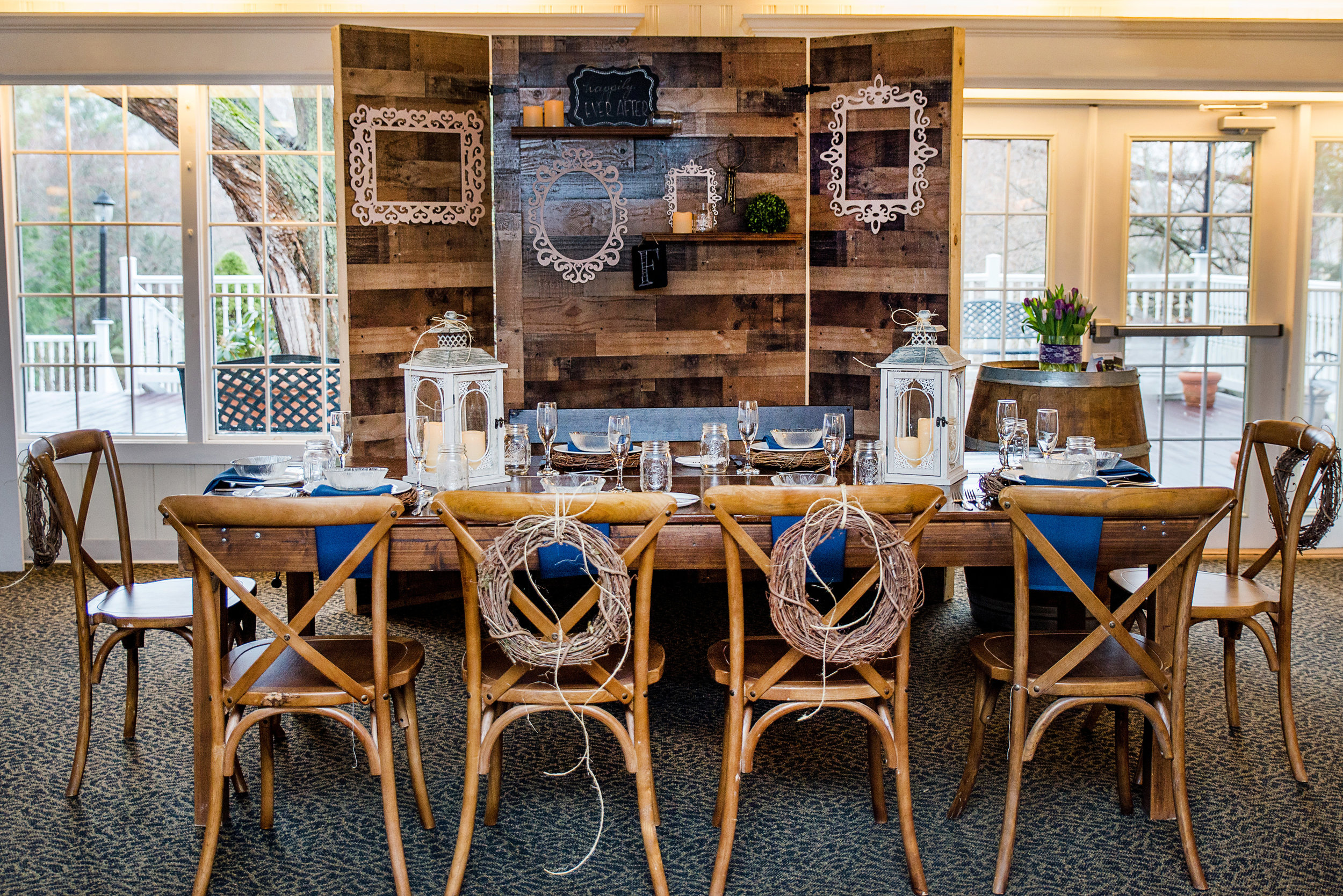 Rustic Fruitwood Farm Table