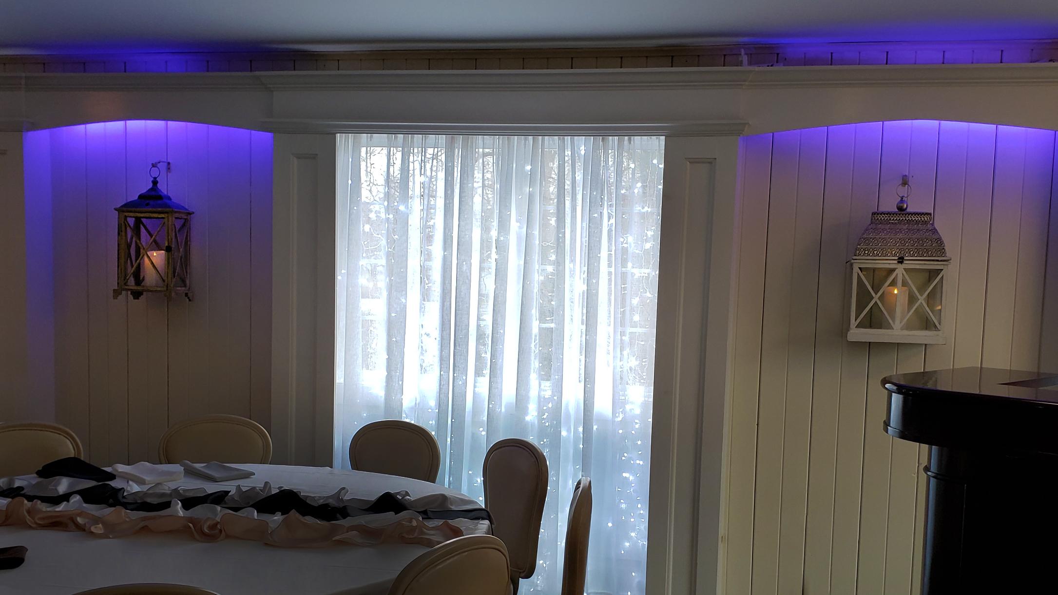Window Fairy Lights & Wall Lighting (Color Customization)