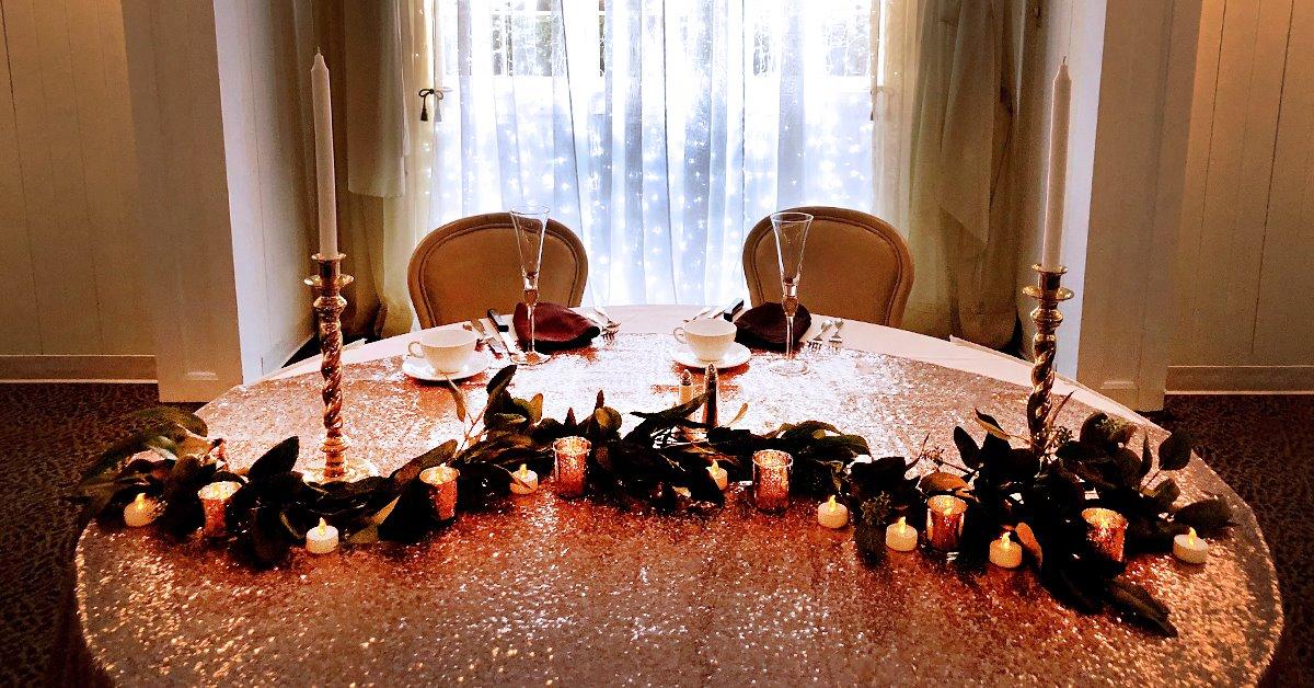 Sweetheart Head Table