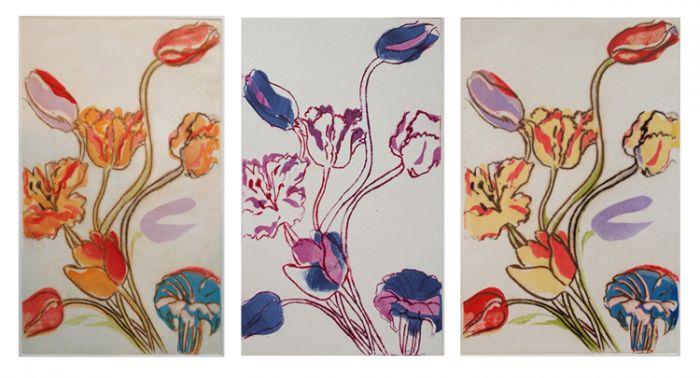 Tulips Triptych