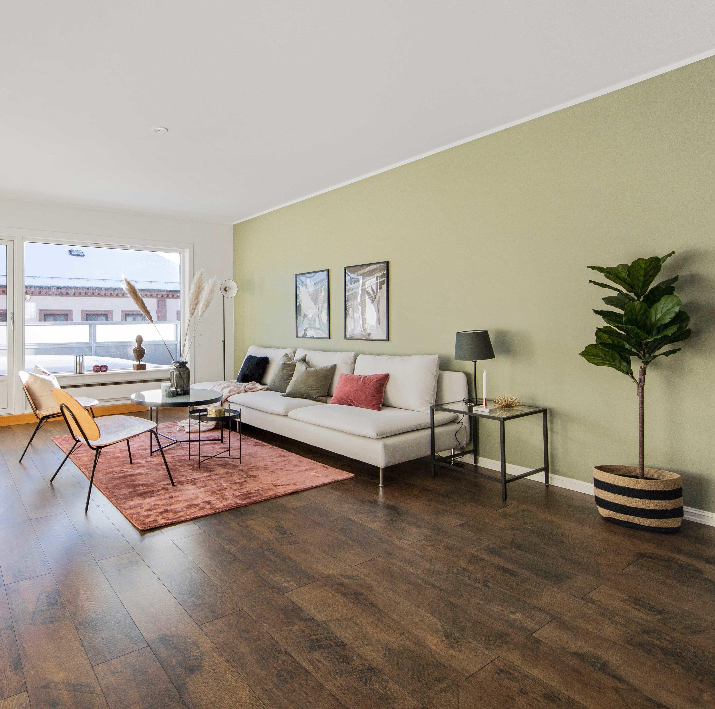 FULLSTYLING - For deg som har en bolig uten møbler og interiør, og som ønsker hjelp til full møblering og styling av hele boligen.