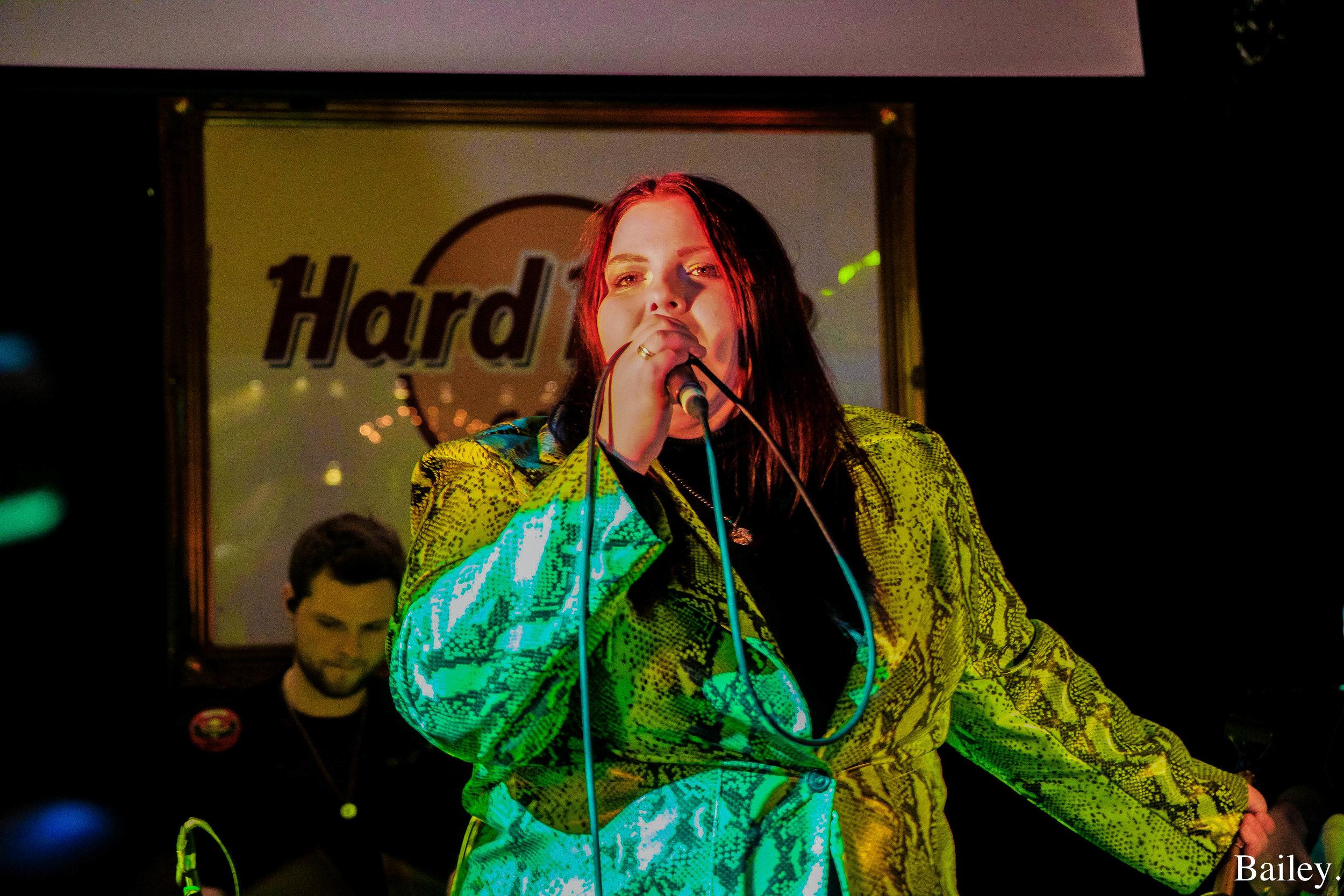 bang bang romeo at the hard rock cafe - Words + Photo: Elly Bailey