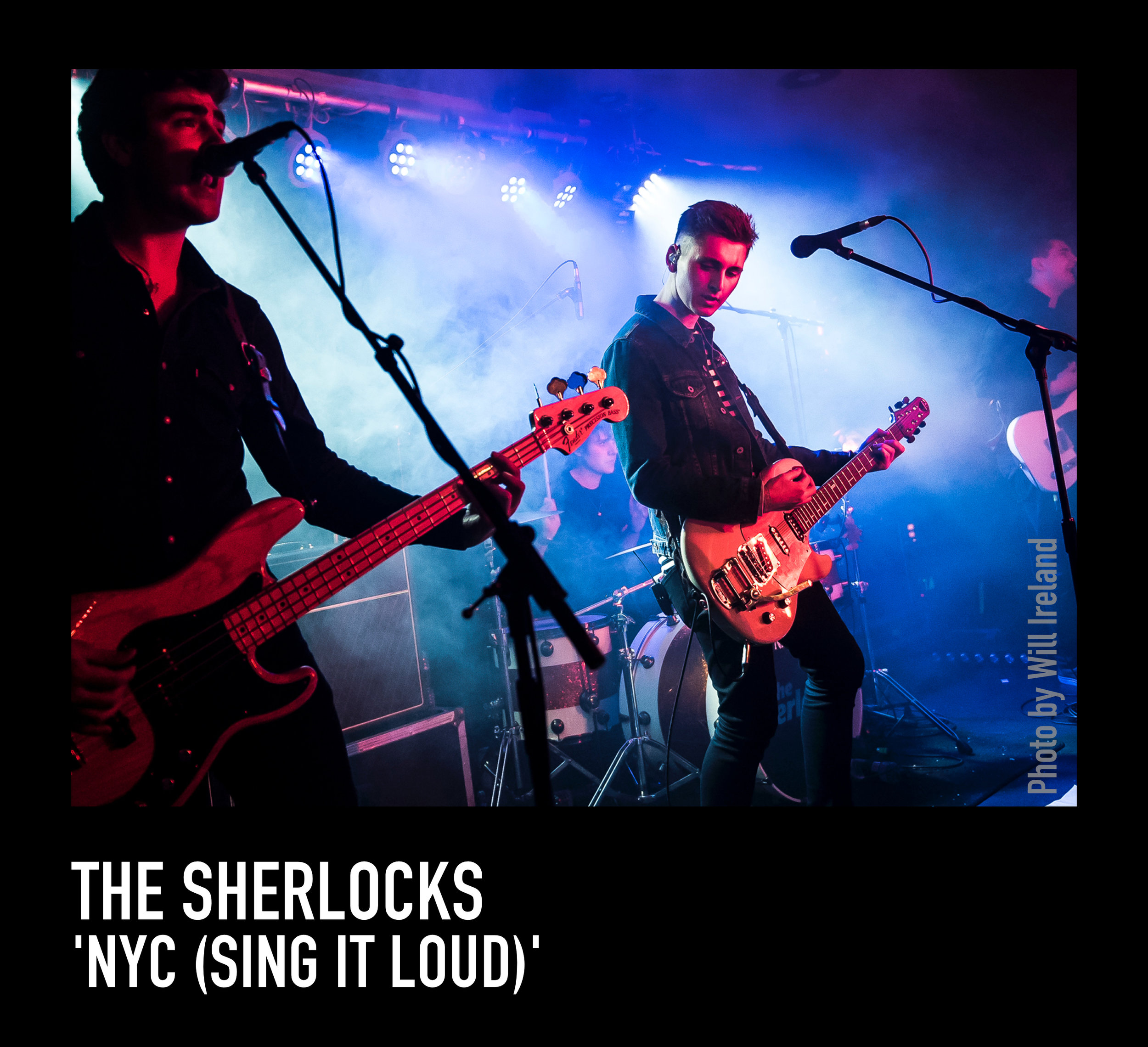 The Sherlocks return with soaring new single 'NYC (Sing It Loud), the video starrs This Is England and Game Of Thrones star Thomas Turgoose