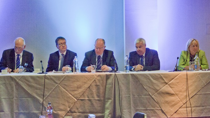 First panel session