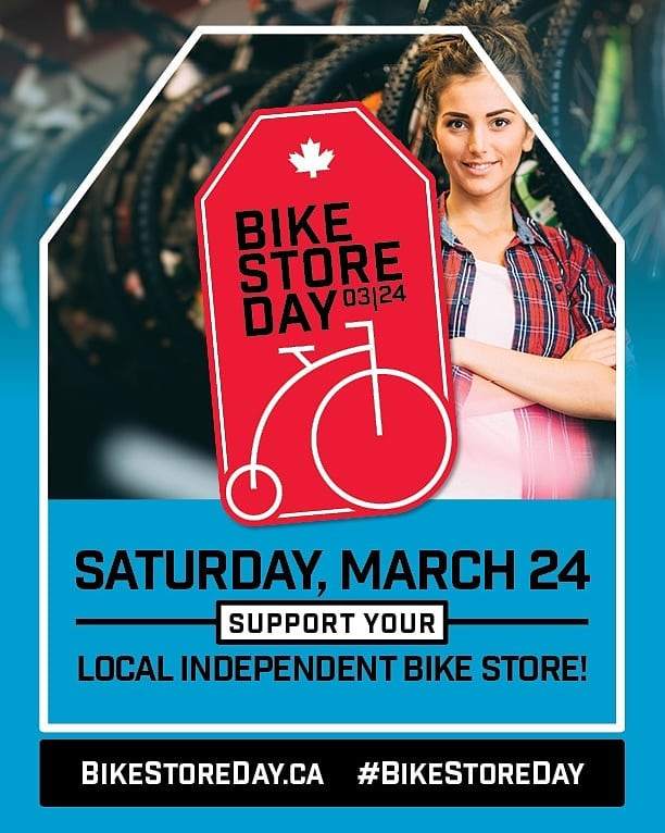 Did your shop participate in Canada's first #BikeStoreDay2018? Help us make it bigger and better by taking a short survey - link in profile. #supportyourlocalbikeshop #bikestoreday