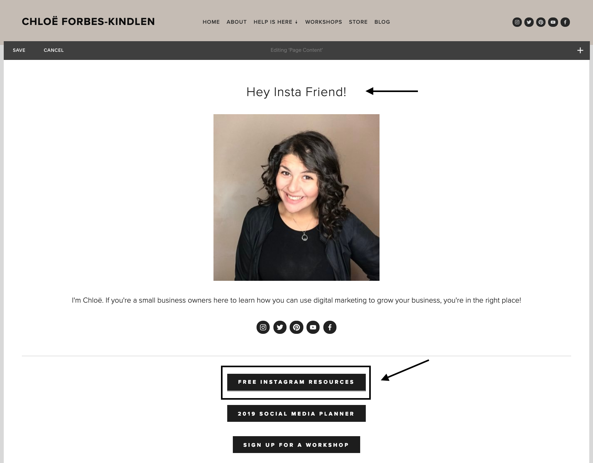 Chloe Forbes-Kindlen How To Set Up A Custom Instagram Landing Page in Squarespace 3.png