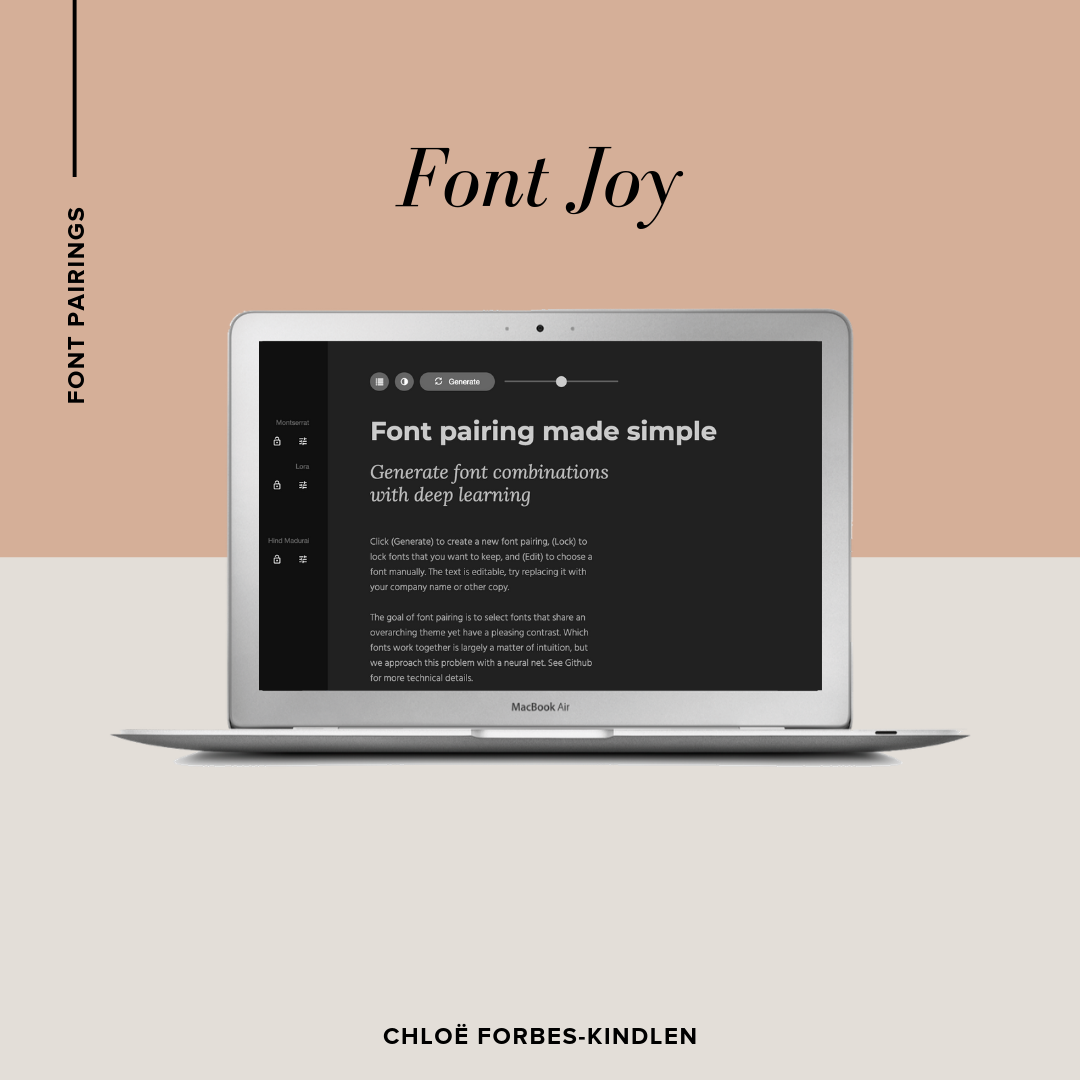 Chloe Forbes-Kindlen | Font Pairings | Font Joy.png