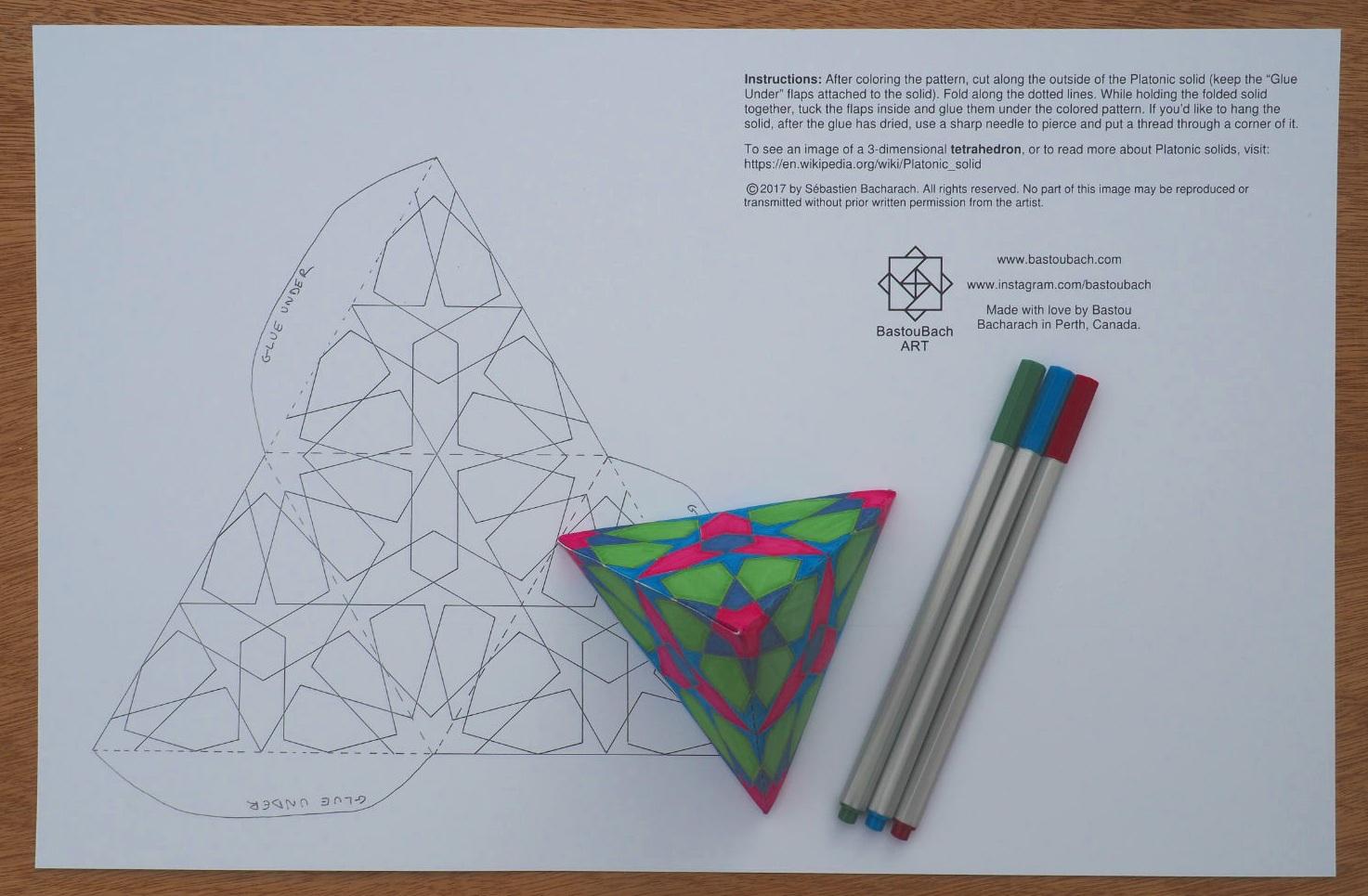 12-fold tetrahedron