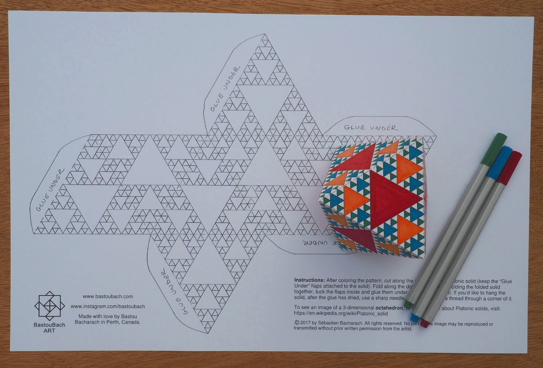 Triangles octahedron