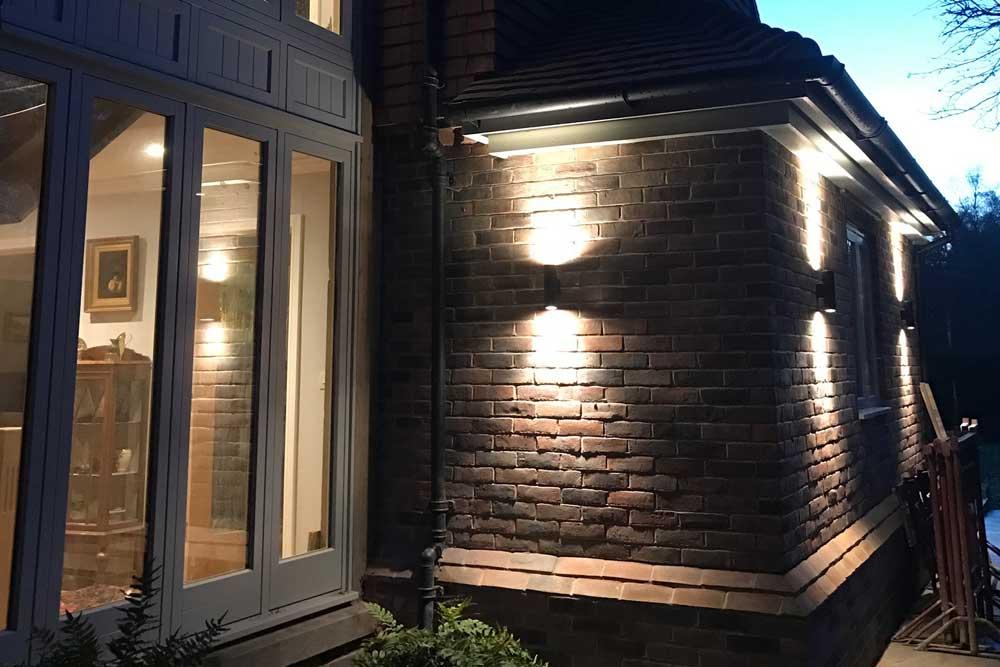 Outdoor Lighting in Surrey
