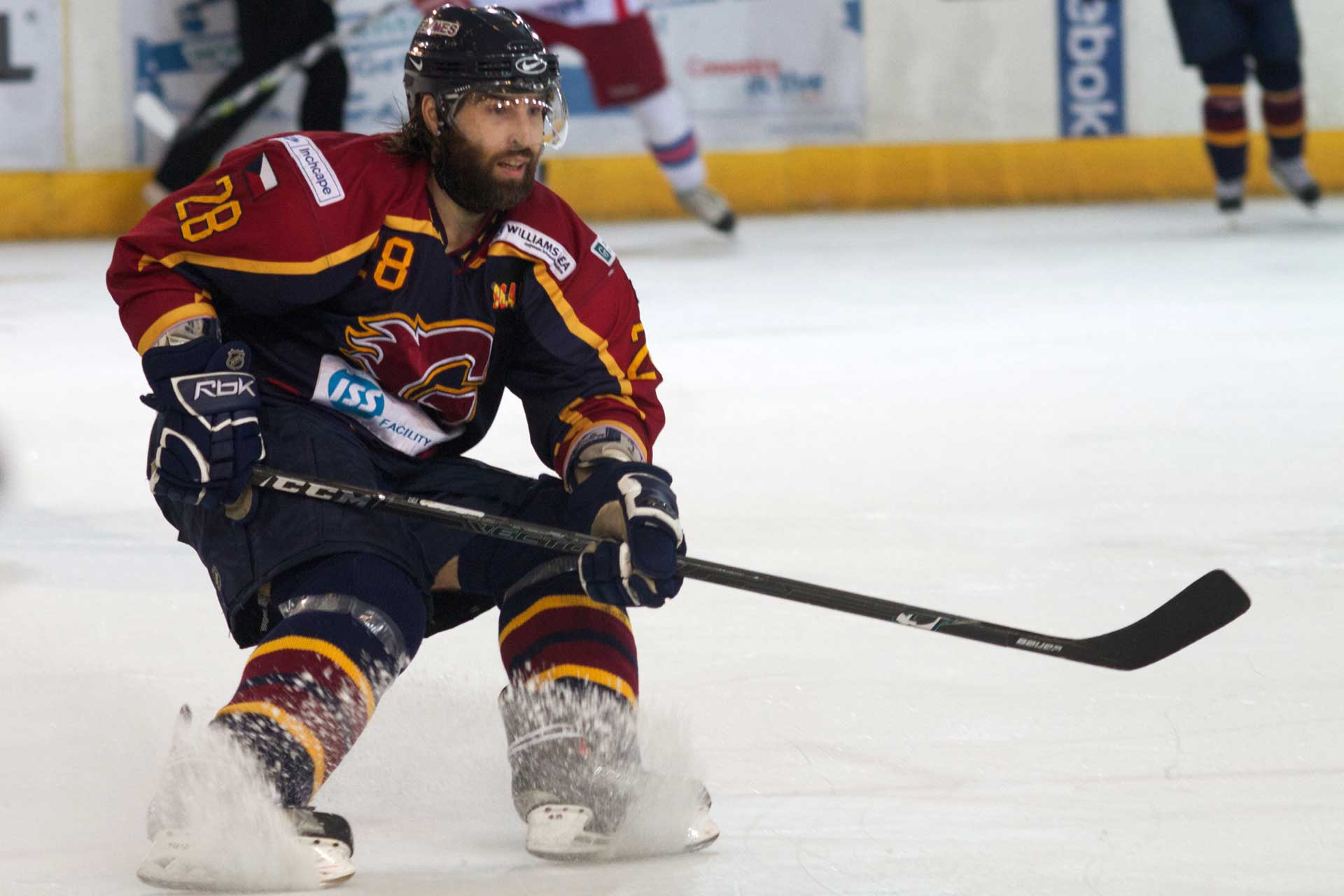 Guildford Flames - Hi-Spec Electrics are corporate sponsors to the Guildford Flames Ice Hockey Team. Corporate sponsorship gives us the opportunity to give something back to the local community, and support sport in the area.