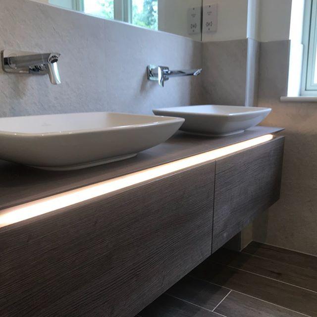 Bathroom lighting...